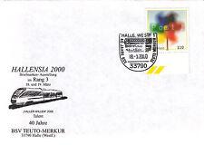 (24100) Allemagne Train / Chemin De Fer Housse - 2000 Hallé
