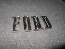 1968 1969 1970 FORD GALAXIE CUSTOM 500 XL LTD TRUNK DECKLID LETTERING EMBLEM SET