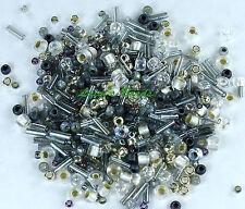 30g Toho Japanese Glass Seed Beads Mix #3211 - Tenin-Gray/Gold Mix