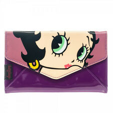 BETTY BOOP Logo envelope style soft cover / case wallet checkbook  **NEW
