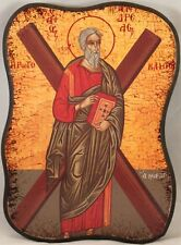 Greek Orthodox Icon of St. Andreas (Andrew) the Apostle