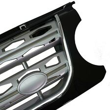 Black/Chrome/Silver Disco 4 2014 style front grille Land Rover Discovery 4 2010