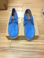 FRED PERRY  CLAXTON IN MID SUEDE.10 REDUCED TO £70.00