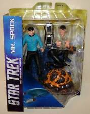 Diamond Select Toys STAR TREK Mr. SPOCK Action Figure Diorama Set MIP