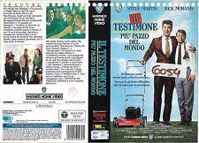 IL TESTIMONE PIU' PAZZO DEL MONDO (1990) vhs ex noleggio