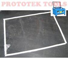 pellicola protettiva per cabina sabbiatrice da banco da 90 litri 400x300 mm