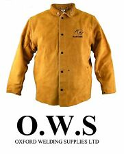 Parweld Panther Leather Welders Welding Jacket SIZE XL