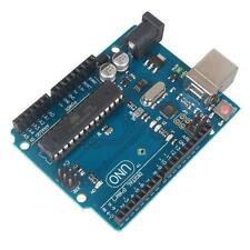 NEW 2015 Arduino UNO R3 ATMega328P+ATMega16U2 Development Board + USB Cable SS