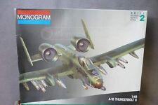 Monogram A-10 Thunderbolt II 1:48 Plastic Model Kit #5505