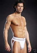 PERFORMANCE MICROFIBER JOCK STRAP WHITE LARGE-EXTRA LARGE The essential jock