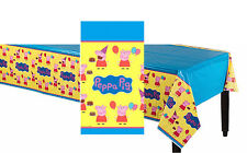 Peppa Pig Plastic Table Cover Birthday Party Decorations Supplies ~ Tablecloth