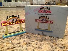 """1999 Vintage Department 56 Citylights Monopoly """"Citylights"""" Lighted Sign MINT !!"""