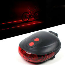 Laser LED Bike Bicycle Safety Light J30