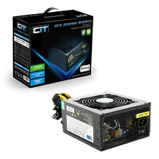 CiT 600W Black Edition PSU 12cm Single 12v CE PFC Model 600UB
