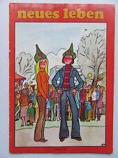 Neues Leben 10/77, Geraldine Chaplin, Elvis Presley, Veronika Fischer, Puhdys,