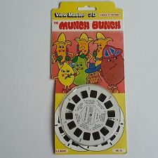 VIEW-MASTER 3D CARDED PACKET SET THE MUNCH BUNCH TV cartoon