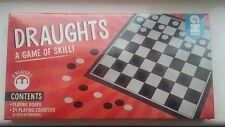 Draughts Adult Children Kids Board Game