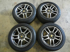 "JDM Rays Wheels 16"" Rays Foundry Rims 5x100 5x114.3 Universal 16x7 Wheels 5 Lug"