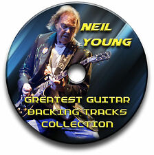 NEIL YOUNG STYLE AUDIO CD FOLK COUNTRY ROCK GUITAR PLAYBACK JAM TITEL