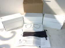 Lot of 10 Uvex & XC Safety Glasses Prescription Insert - New