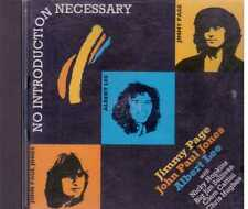 john Paul Jones Jimmy Page Albert Lee No Introduction Necessary Cd very rare