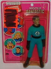 "MINT ON CARD 1979 MEGO WGSH FANTASTIC 4 MR. FANTASTIC 8"" ACTION FIGURE MOC MIB"