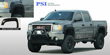 """BLACK PAINTABLE Fender Flares 07-13 GMC SIERRA 1500 69.3"""" BED POP-OUT BOLT Style"""