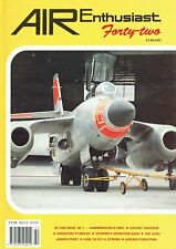 AIR ENTHUSIAST #42 MAR-APR 91: D.H.SE.1 STORY/ VAUTOUR/ S.SINGAPORES/ ANSON