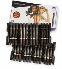 Prismacolor Premier Flesh Toned Double-Ended Fine & Chisel tip 24 Marker Set
