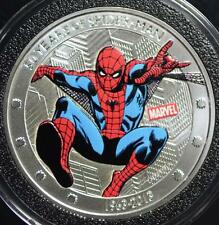2013 1 oz. Silver 50 Years of Spiderman Coin Lot 259