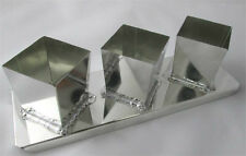 Square Metal VOTIVE Candle Mold (3-in-1 Strip)