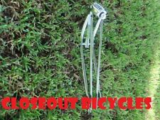 "26"" CLASSIC BICYCLE SPRINGER FORK 1"" THREADED CHROME CRUISER LOWRIDER"