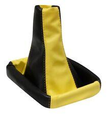 Soufflet de levier vitesse noir/jaune al pour FIAT STILO 2001-2007