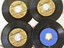GOSPEL 45 LOT on DESIGNER: Spiritual Choralettes, Whitford, Shows, Breckinridge