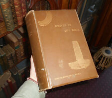 1891 Graven in the Rock - Assyrian & Egyptian Monuments - Bible Accuracy - Kinns