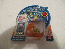 Mattel Megaman NT Warrior SearchSoul Figure with Counter1 Battle Chip