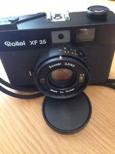 Rollei XF 35 35mm Film Rangefinder Camera W/ Sonnar 40mm F/2.3 Lens Timer