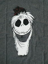 mens 2XL Nightmare before Christmas shirt new jack Skellington santa hat XXL