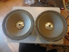 """Herald Muscle Magnet 12"""" Speaker Pair/Eminence Chicago Illinoise Made in the USA"""