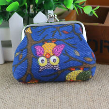 Women Lovely Style Lady Small Wallet Hasp Owl Purse Clutch Bag D Newest