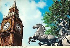 BR82154 big ben and the boadicea statue london   uk