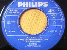 """MASSIEL - HE GIVES ME LOVE ( LA, LA, LA )  7"""" VINYL"""