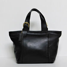 Authentic COACH 4133 Vintage Soho Waverly Black Leather Hand Bag,Satchel,Tote