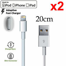 2 Apple iPhone 5 6 7 PLUS SE iPad mini Air Pro iPod lightning data charger cable