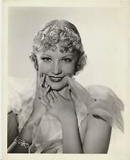 JUNE KNIGHT Cute ORIGINAL Vintage 1934 CLARENCE BULL Stamped MGM Portrait Photo