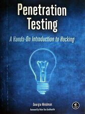 *BRAND NEW* PENETRATION TESTING : A HANDS-ON INTRODUCTION to HACKING