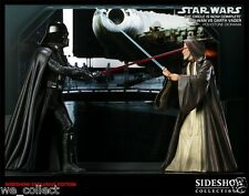 The Circle Is Now Complete SIDESHOW EXCLUSIVE star wars vader obi wan DIORAMA