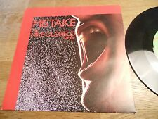 "THE MIKE OLDFIELD GROUP ""MISTAKE / (WALDBERG) THE PEAK"" 1982 SWEDISH NCB VIRGIN*"