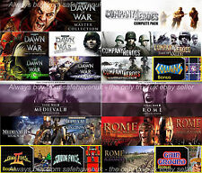 Company of Heroes Dawn of War Medieval II Rome Total war collection Steam key