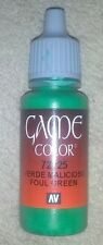 Vallejo Paint Game Color Foul Green 72025 Eye Dropper Bottle 17ml